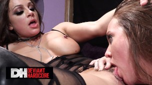 Deviant Hardcore – Gorgeous Abigail Mac & Maddy O'Reilly Getting Sassy And Naughty